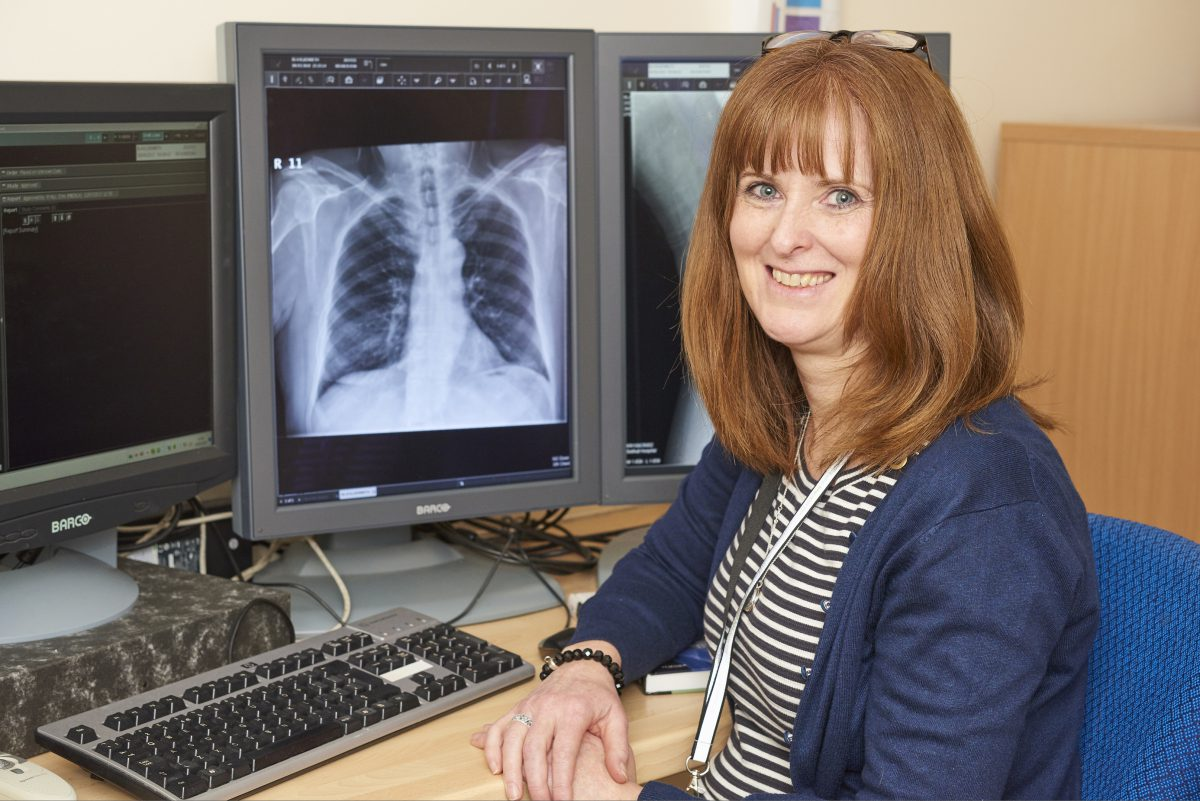 Louise takes on exciting new role as our first consultant radiographer