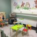 Imaging play area for children waiting at Good Hope Hospital